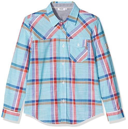 Mexx Jungen Hemd, Mehrfarbig (Blue Checked 318174), (Herstellergröße: 104)