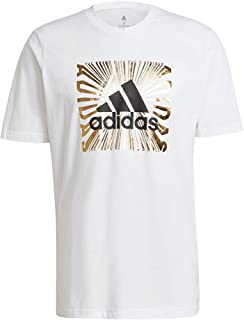 adidas Men's M EXTMO FL T GRAPHIC TEE (SHORT SLEEVE)