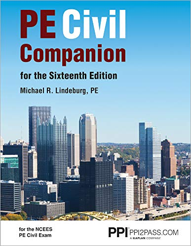 PPI PE Civil Companion for the Sixteenth Edition – A Supportive Resource Guide for the NCEES PE Ci