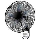 LMDH El huracán Pared Fan/Ventilador de Pared Industrial/Motor de Cobre Puro / 220V / 3 Velocidad/con Control Remoto for el hogar, Oficina, Invernadero, Estudio