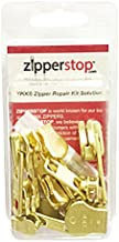 ZipperStop Wholesale - Zipper Repair Kit Solution YKK® 8 sets Auto Lock Sliders Assorted 2 of #5, 2 of #7 , 2 of #8 and 2 of #10 Included Top & Bottom Stops Made in USA (YKK Brass Auto Lock Sliders)