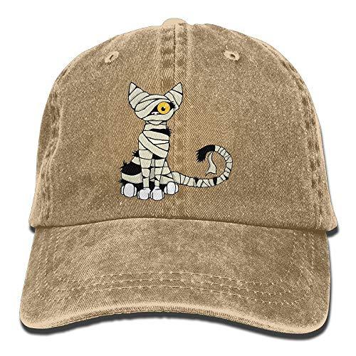 Caps big Gorra de Cricket para Mujer Males, Gorro de Momia Gato Jean para niño Mujer Unisex