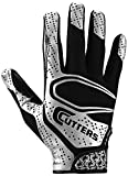 Cutters Rev 2.0 Receiver Gloves, Pair, Adult,Small,Black