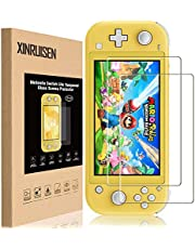 Screen Protector for Nintendo Switch Lite, XRSC (2 Pack) Nintendo Switch Lite Tempered Glass Screen Protector Anti-Scratch Protective Screen [Shatter-proof][9H Hardness][Bubble Free][High Definition]