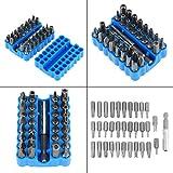Seguridad precisión 33 unids/set puntas de destornillador multifuncionales herramienta de reparación Kit de puntas de destornillador hueco para equipo de máquina