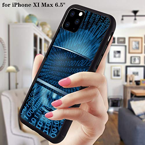 Buy iPhone 11 Pro Max 6.5 Inch 2019 Case Tire Texture Edge Protection Against Shock and Skid Scratch...