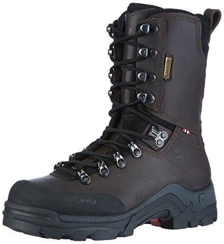 Viking Hunter GTX, Stivali da Caccia Unisex-Adulto Marrone (Dark Brown) 44 EU