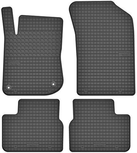 Motohobby Gummimatten Gummi Fußmatten Satz für Peugeot 208 I (ab 2012) / Peugeot 2008 I (ab 2013) - Passgenau