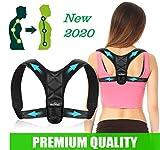 Best Posture Braces - [New 2020] Shoulder Back Support, Posture Corrector, Adjustable Review