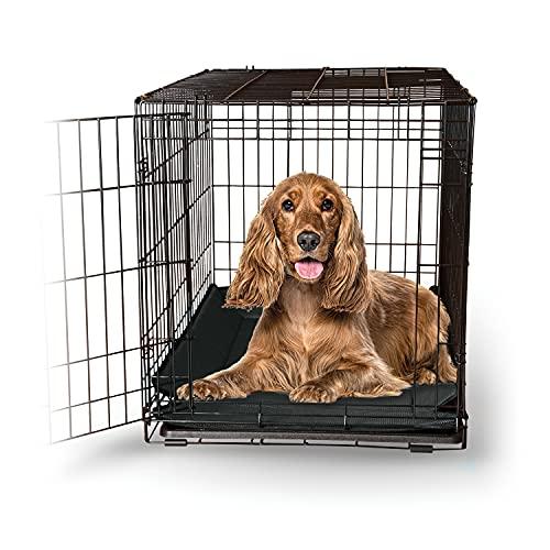 K&H Pet Products Odor-Control Crate Pad Medium Gray 21' x 31'