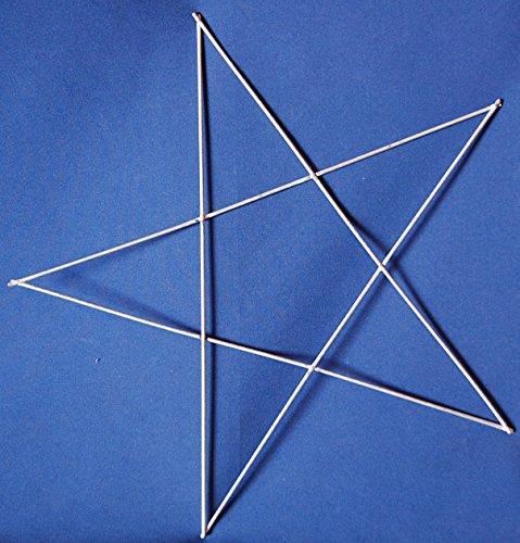 "16"" Star Wire Wreath Form"