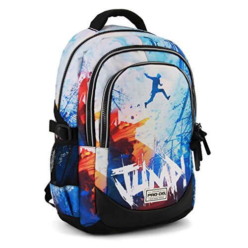 PRODG Jump-Running HS Backpack Rucksack, 44 cm, 21 liters, Blau (Blue)