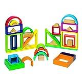 GOKI- Puzzles 3DPuzzles 3DGOKIJuego de construcción Arco Iris, Multicolor (1)