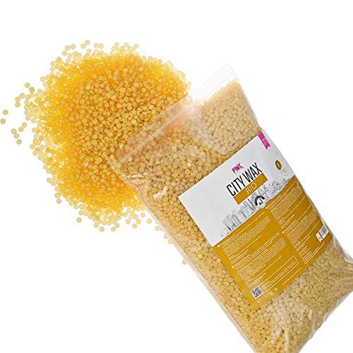 City Wax Rio Premium Wachs 1 kg – Wachsperlen - Wax Beans - Wachsbohnen zur professionellen Haarentfernung ohne Vliesstreifen ab 3 mm Haarlänge – Brazilian Waxing