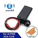 Car Radio Bluetooth AUX-IN Adapter KCA-121B Auxiliary Aux 9887/105/117/9855/305S Audio Wiring Ai-net for Alpine