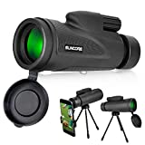 Evershop Monocular Telescopes, Phone Telescopes with Low Night Vision Waterproof Scope for Adults