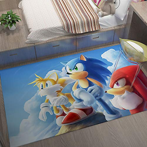 Sonic Racing baby rugs for play area nursery area rug gifts for baby for children's bedroom,Sonic Sonic The Hedgehog Sega Video Games