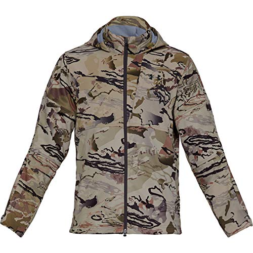 Under Armour Men's Ridge Reaper Infil Windstopper Jacket , Ua Barren Camo (999)/Black , Ua Barren Camo (999)/Black