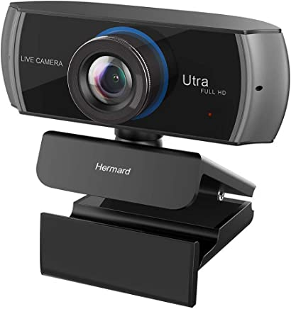 Full HD Webcam 1080P/1536P, Widescreen Video Calling and Recording, Digital Web Camera with Microphone, Stream Cam for PC, Laptops and Desktop