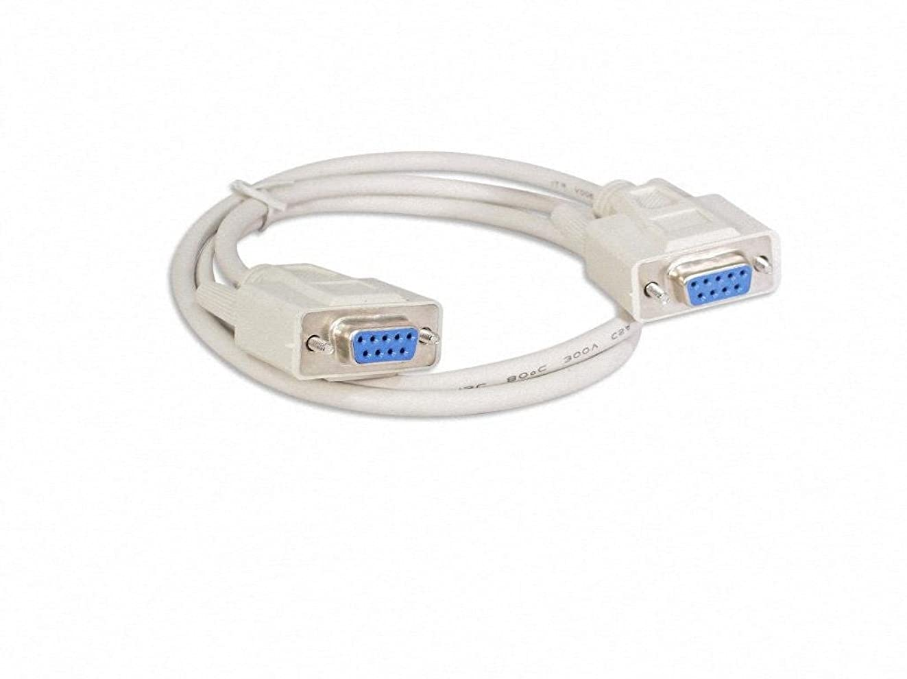 Your Cable Store RS232 DB9 9 Pin Serial Port Cable Female / Female (3 feet)