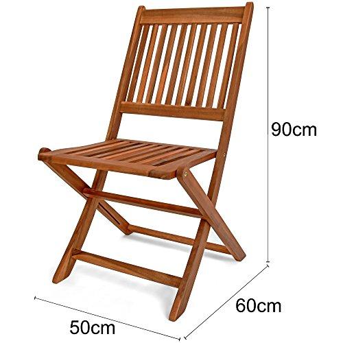 Deuba Sessel, Gartenmöbel, Holz, Eukalyptus, Akazienholz, Modell nach Auswahl - 7