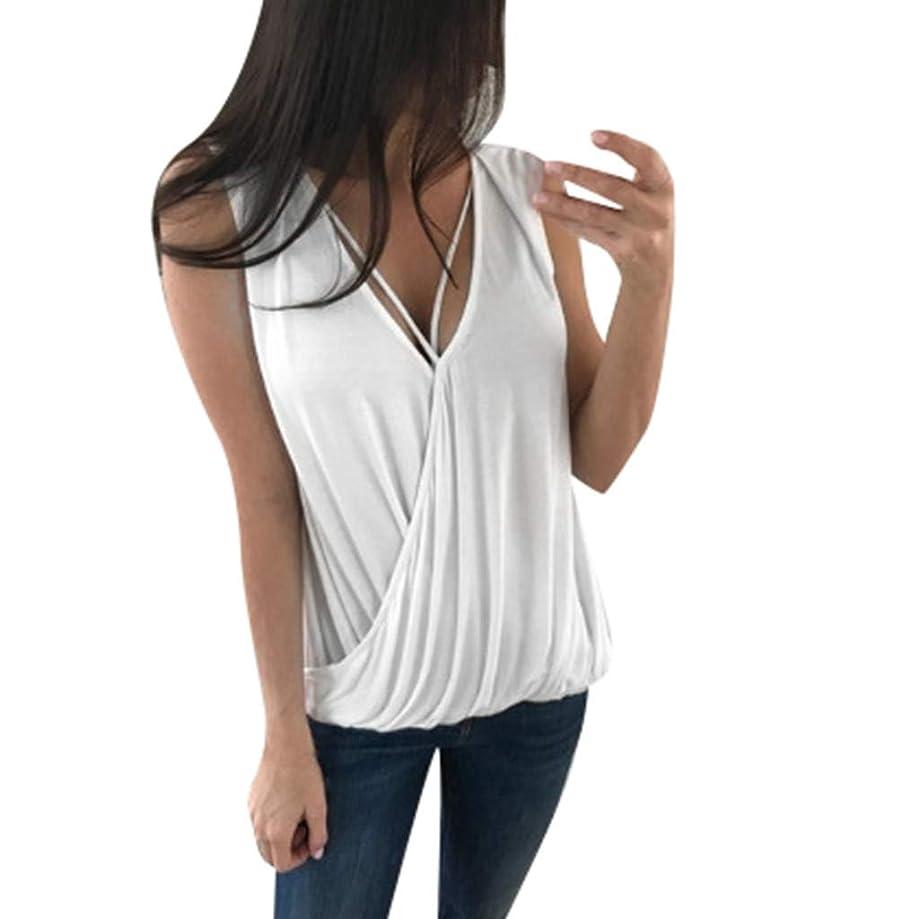 Eaktool Womens Tops,Women's Summer Sexy Fashion Sleeveless Small Camisole Top T-Shirt