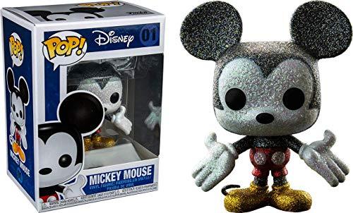 FunKo Mundotaku Pop! Mickey Mouse Glitter 01 Diamond Collection Exclusive