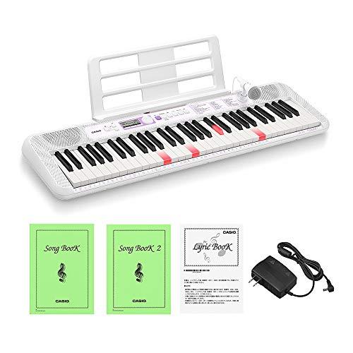 カシオ(CASIO) 光ナビゲーションキーボード LK-315 61鍵盤 鍵盤が光る 初心者でも簡単 指1本でも弾ける 人気の120曲内蔵 楽しく歌えるマイク付き