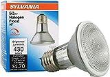 SYLVANIA 16104/2 16104 2-Pack Capsylite Halogen Dimmable Lamp / PAR20 Flood Light Reflector / 50W Replacement/Medium Base E26 / 39 Watt K – Warm White, 2850 Kelvin, 2 Count