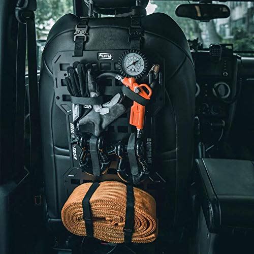 Universal Seat Cover Case Board with 10 Velcros for Jeep Wrangler JK JL Unlimited CJ YJ Cherokee Rubicon Ford F150 Ridgeline Toyota Chevy Dodge Seat Protector