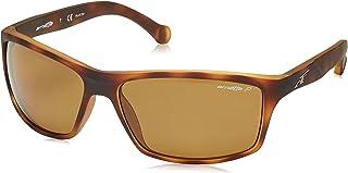نظارات شمسية بتصميم مستطيل باطار بني للرجال من ارنيت AN4207