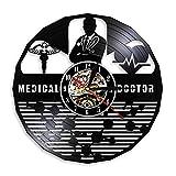 Fryymq (12 Pulgadas con LED) El Reloj en la Pared del médico, el...