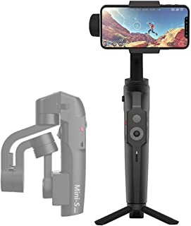 MOZA Mini-S Gimbal Foldable Extendable 3 Axis Smartphone Gimbal with Quick Platback,One-Button Zoon,Timelapse,Objecti Tracking,Inception Mode Fucntion for Smartphone