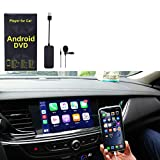 Vapeart Android Auto USB AutoPlay Dongle Car Stereos, Smart Phone, Support Android 4.0 Version and Above for Car Radio, Install The AutoKit app in The Car System (Black)