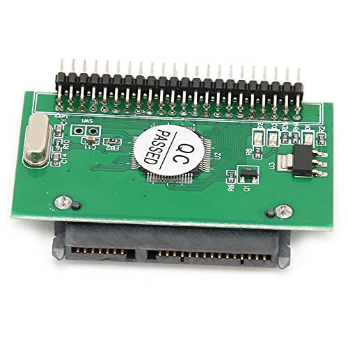 Adaptador SATA a IDE para computadora portátil, SATA Hembra a 2.5in IDE Macho 44 Pin 1.5Gbs Convertidor de Disco Duro, Compatible con Windows XP / 2003 / Vista / 7 / Linux, etc.