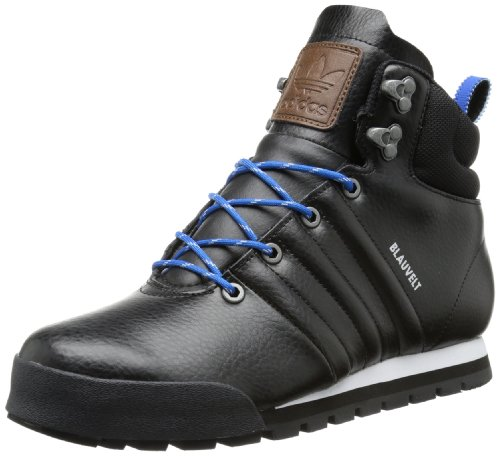 adidas Herren Jake Boot Trekking-& Wanderhalbschuhe, Schwarz (Black 1 / Black 1 / Running White FTW), 41 1/3 EU