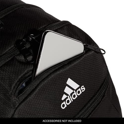 Amazon.com: adidas Foundation Backpack, Black/White, One Size ...