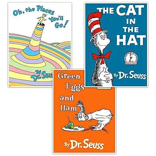 Superior Dr. Seuss Book Wall Art Nursery Decor set Ranking TOP19 3 of -