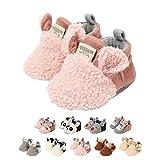 Zapatos de Bebe 0-18 Meses,Unisexo Recién Nacido Linda Antideslizante Único...