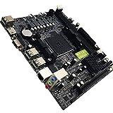 MXECO A88 Escritorio Placa Base FM2 + Escritorio Placa Base Soporte para DDR3 16G Soporte 7650K VGA HDMI SATA3.0 portátil Tamaño YAHALOU