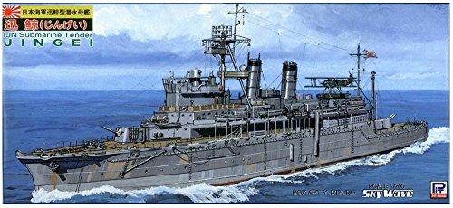 ピットロード 1/700 日本海軍 潜水母艦 迅鯨 W36