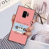 Phone Case Compatible for Samsung Galaxy S9 [5.8-Inch] Stranger Things Tape Quote