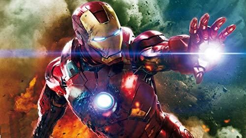 GUANGMANG Jigsaw Puzzle 1000 Pieces Carteles De Películas Iron Man: Póster De...