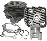 UNTIMERO 70cc Sport Cilindro Culata Kit Set para ADLY Noble 50 2T