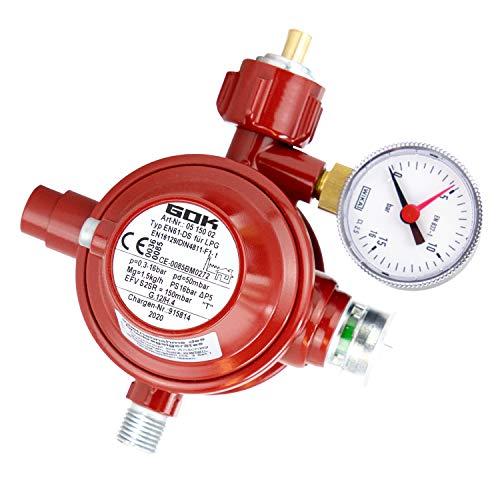BOGAPRO Haushaltsregler Gasregler für...