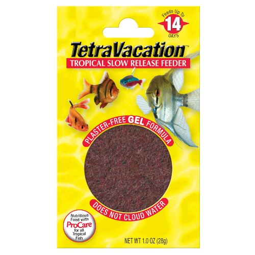 Tetra Vacation Tropical Slow Release Feeder Fish Food, 1.06 oz (77150)