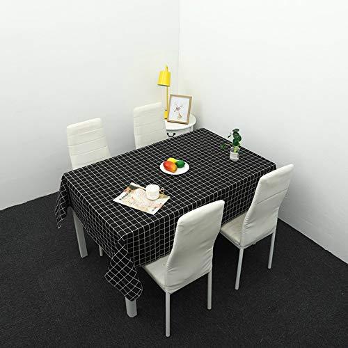 YOUYUANF tischdecke Garten tischdecke abwaschbarTischdecken, Tischfahnen, Tischdecken, helles Essen, monochrom leicht zu waschen100x160cm