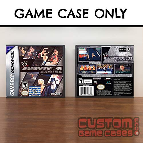 Gameboy Advance WWE Survivor Series - Case