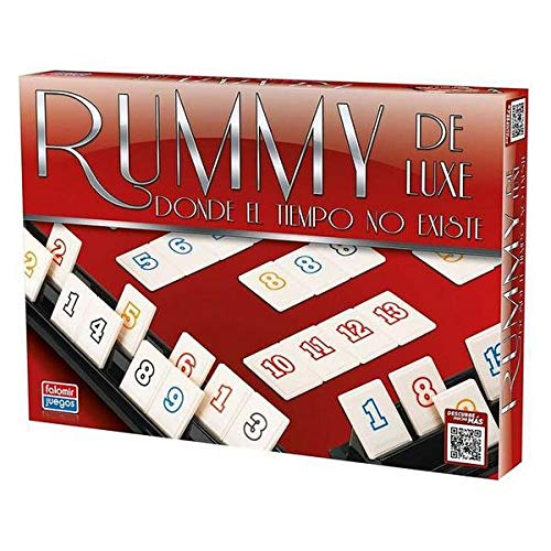 Falomir Deluxe Rummy de Luxe. Juego de Mesa. Clásico. (646396)
