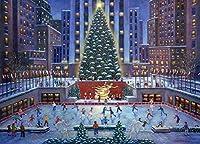 500 ピース 木製ジグソーパズル天の謎の城クリスマス 手作り 装飾品 家族の壁の装飾お誕生日プレゼント 子供と大人のためのゲーム教育玩具 クリスマス プレゼント祝い 新年 ギフト
